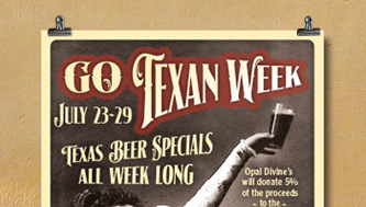 Go Texas Beer